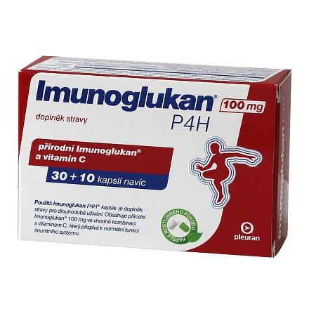 Imunoglukan P 4 H orální tobolky 30 + 10 x 100 mg