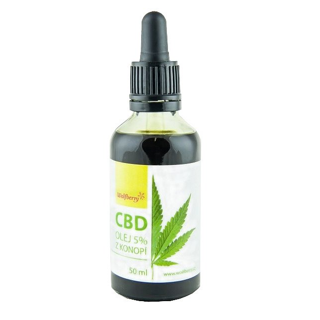 Wolfberry CBD Konopný olej 50ml