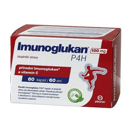 Imunoglukan P 4 H orální tobolky 60 x 100 mg