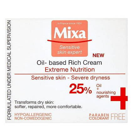 Mixa Sensitive Skin Expert bohatý vyživující krém Extreme Nutrition 50ml