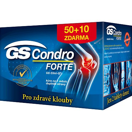 GS Condro Forte tablety  50 + 10