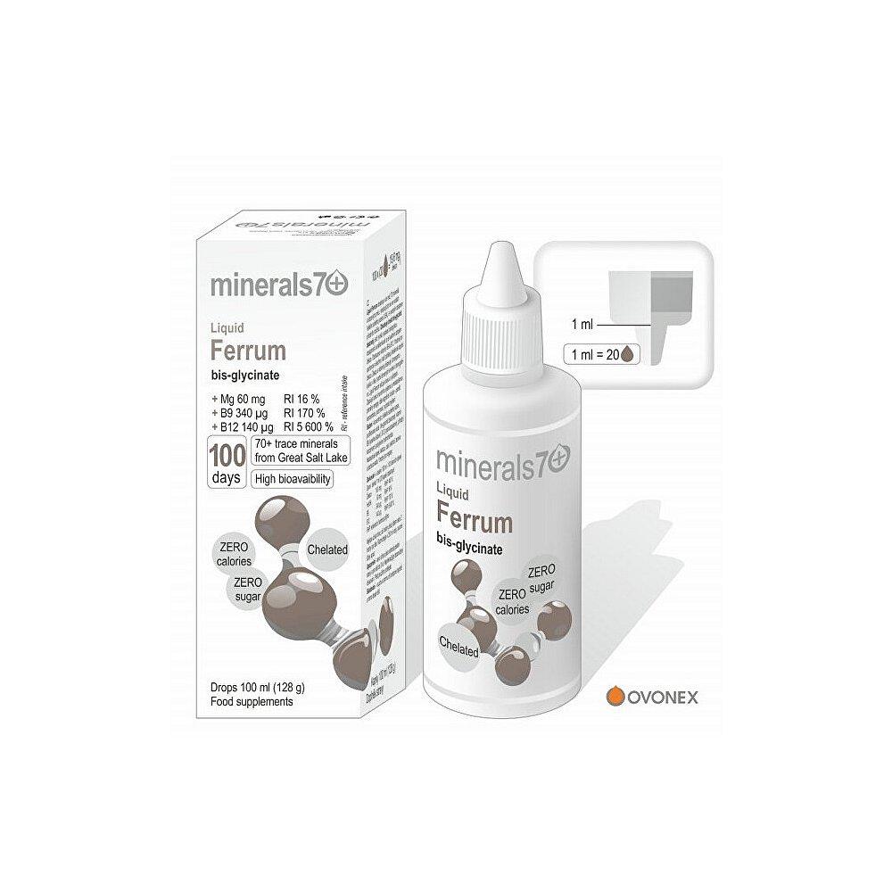 MINERALS70 Liquid Ferrum 100 ml