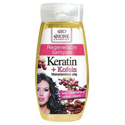 BIO KERATIN + KOFEIN regenerační šampon 260ml