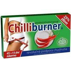 Chilliburner podpora hubnutí tablety 45ks + 15 zdarma