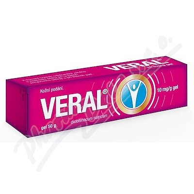 VERAL 10MG/G gely 50G II
