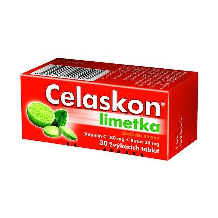 Celaskon Limetka tablety žvýkací 30