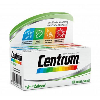 Centrum AZ s Multi-Efektem tablety 100