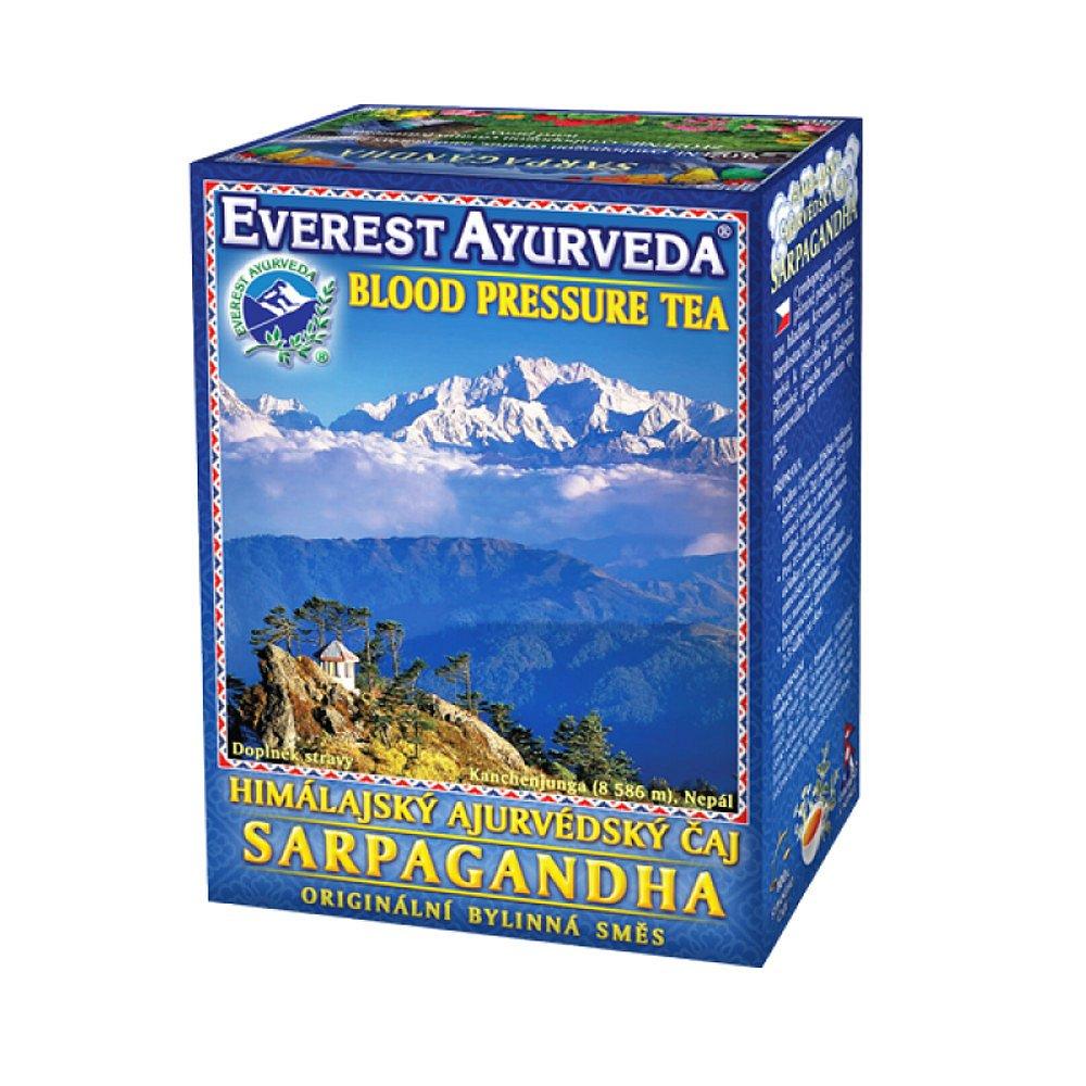 EVEREST-AYURVEDA SARPAGANDHA Zvýšený krevní tlak 100 g sypaného čaje