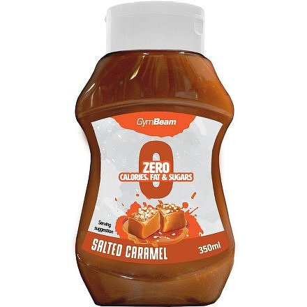 Gymbeam Bezkalorický sirup slaný karamel 350ml
