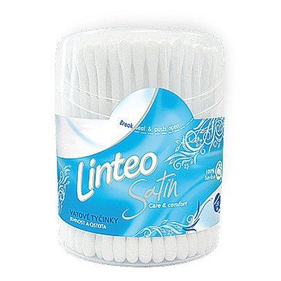 Vatové tyčinky LINTEO Satin 150ks (dóza)