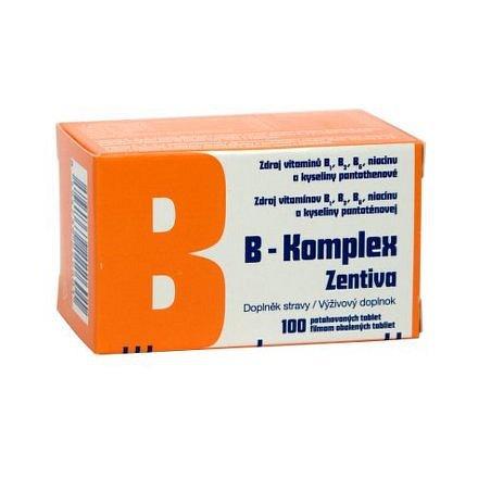 B-komplex Zentiva dražé 100