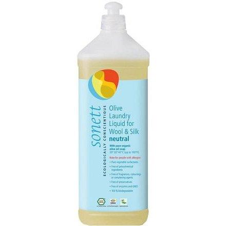 SONETT Olivový prací gel na vlnu a hedvábí Sensitive 1l