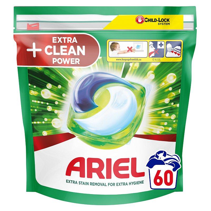 ARIEL Extra Clean kapsle na praní 60 ks