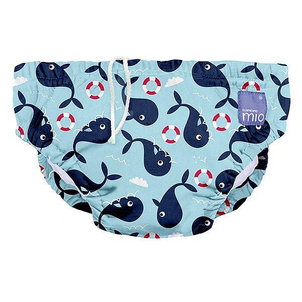 Bambino Mio Kojenecké plavky Whale wharf, vel.S 1ks