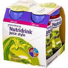 Nutridrink Juice Style jablko por.sol.4x200ml Nový