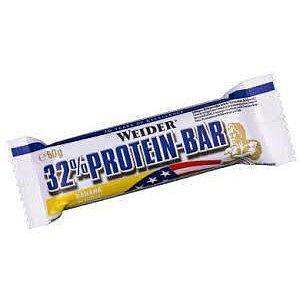 WEIDER, 32% Protein Bar, 60 g, Banán