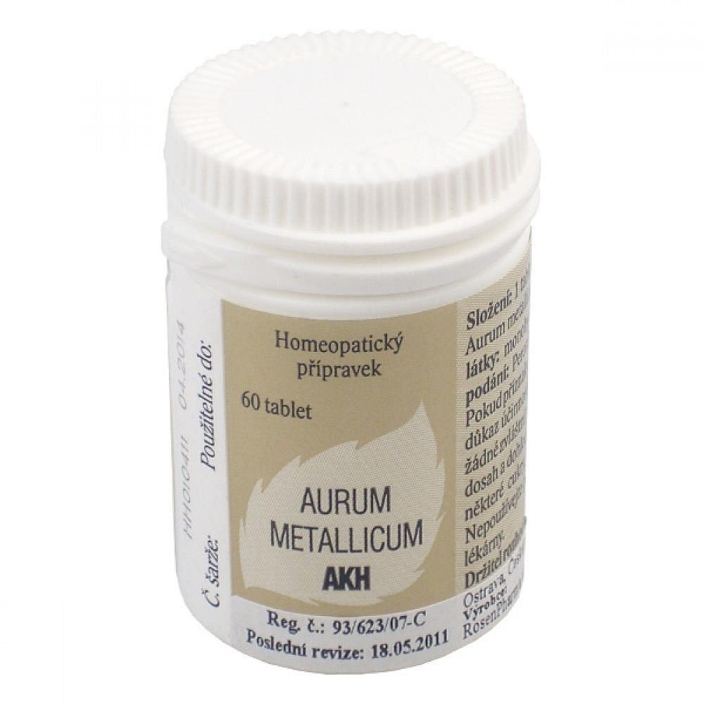 AURUM METALLICUM AKH  60 Tablety