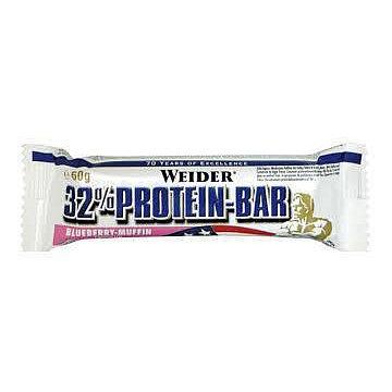 WEIDER, 32% Protein Bar, 60 g, Blueberry-Muffin