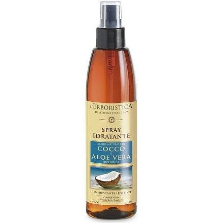 Erboristica Cocco Spray hydratační s aloe vera a kokosovým mlékem 200ml
