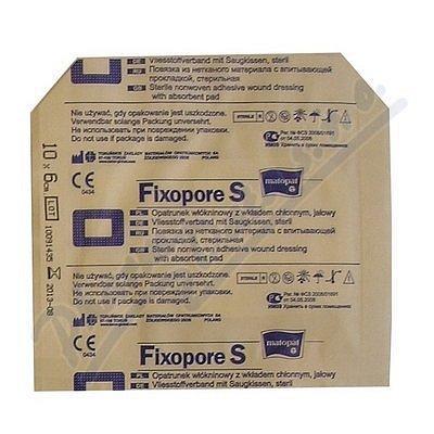 Fixopore S 6 x 10 cm á 1 ks sterilní náplast