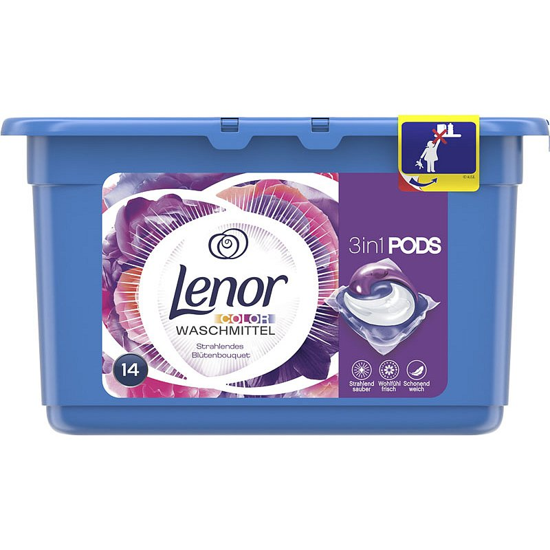 LENOR Flower Bouquet 14 ks - tablety na praní