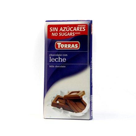 Mléčná čokoláda 75g Torras