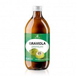 Allnature Graviola Premium - 100% Bio šťáva 500 ml
