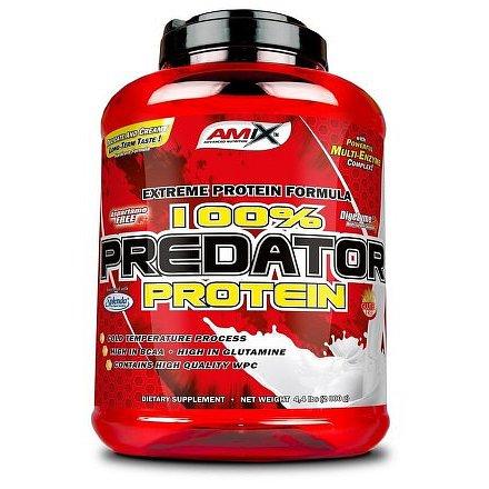 Amix 100% Predator protein jahoda 2000 g