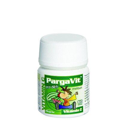 PargaVit Vitamin C meloun pro děti tablety 60