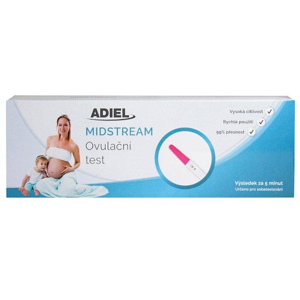 ADIEL Midstream těhotenský test 1ks