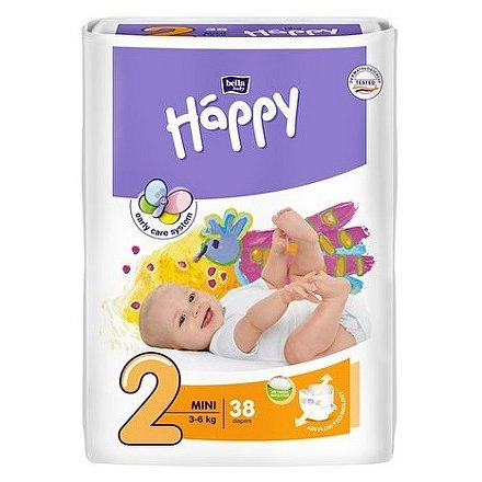 Bella Happy Mini dětské pleny 38 ks