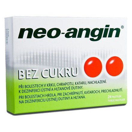 Neo-Angin bez cukru tablety 24