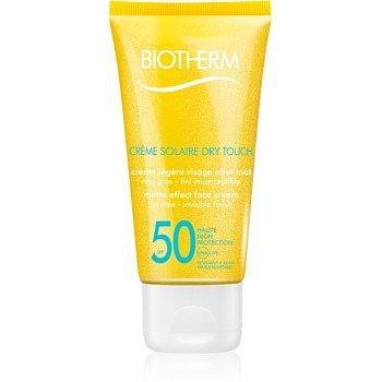 Biotherm Crème Solaire Dry Touch matující opalovací krém na obličej SPF 50  50 ml