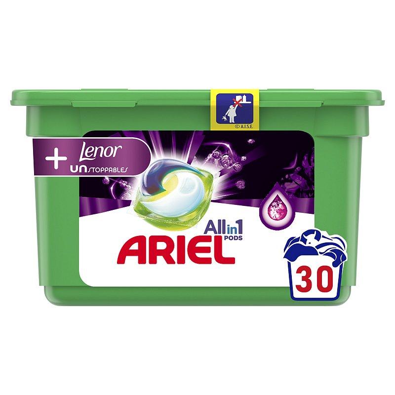 ARIEL Unstoppables kapsle na praní 30 ks