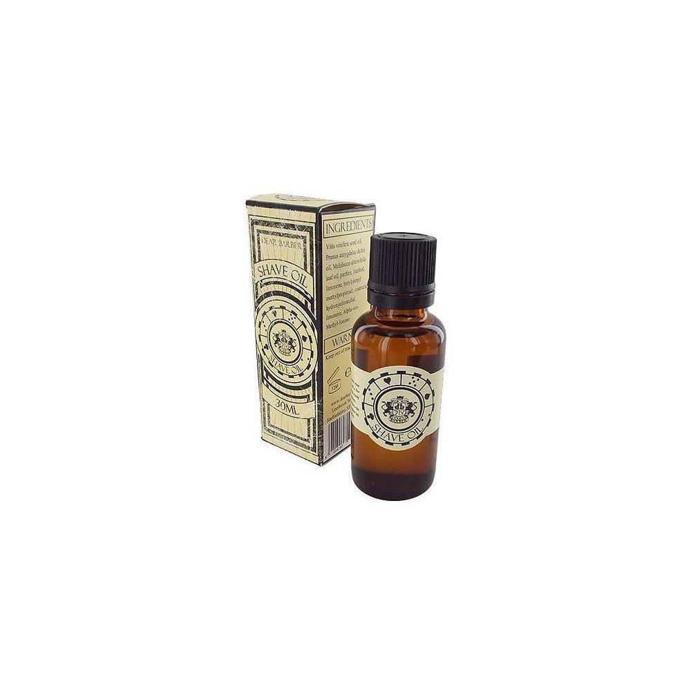 DEAR BARBER Olej na holení 30 ml