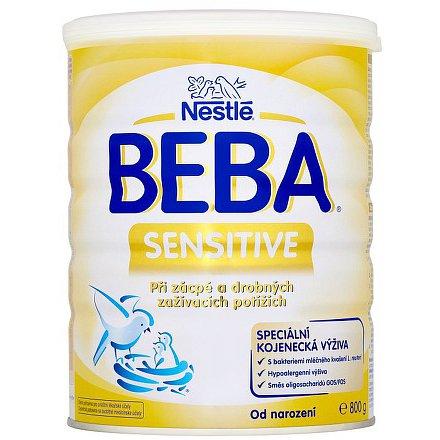 NESTLÉ BEBA Sensitive, speciální kojenecké mléko 800g