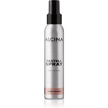 Alcina Pastell Spray tónující sprej na vlasy s okamžitým účinkem odstín Sandy-Brown 100 ml