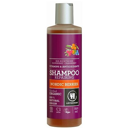 Šampon Nordic Berries na poškozené vlasy 250ml BIO