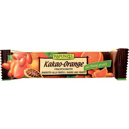 Tyčinka Kakao-Pomeranč  Rapunzel 40g - BIO