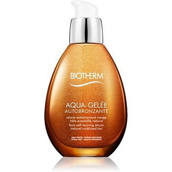 Biotherm Aqua-Gelée Autobronzante samoopalovací sérum na obličej  50 ml