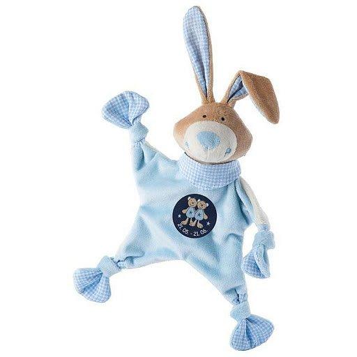 SIGIKID Muchláček znamení BLÍŽENEC modrý zajíc, 19 cm