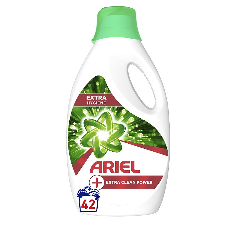 ARIEL Extra Clean prací gel 2.31 l, 42 pd