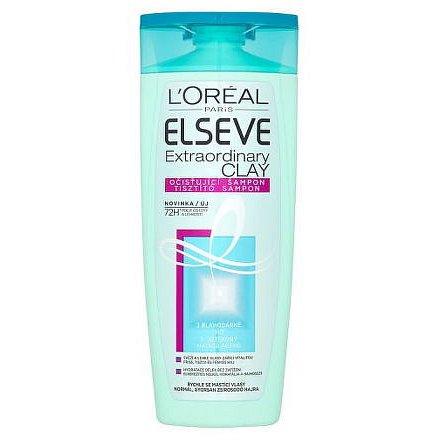 L'Oréal Paris Elseve Extraordinary Clay očisťující šampon pro rychle se mastící vlasy 250ml