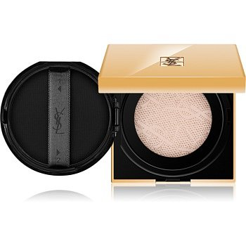 Yves Saint Laurent Touche Éclat Le Cushion rozjasňující tekutý make-up v houbičce odstín BR 40 Cool Sand 15 g