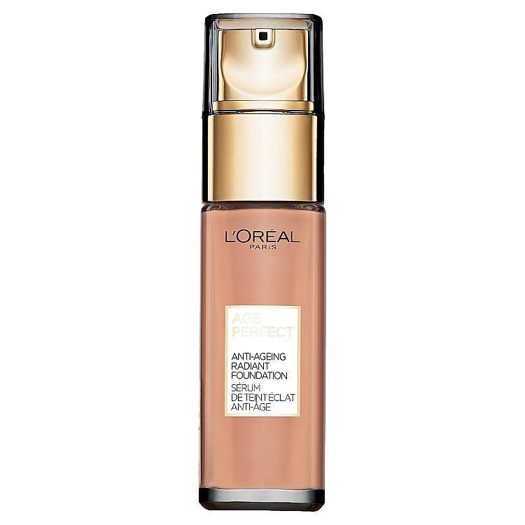 L'Oréal Paris Age Perfect 150 Creme Beige omlazující a rozjasňující make-up  30 ml