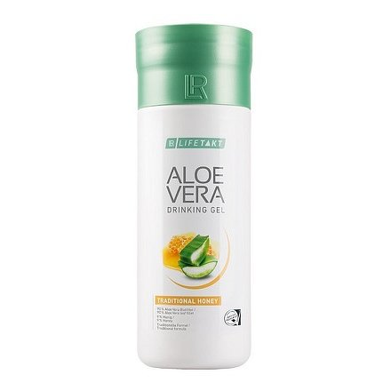 LR LIFETAKT Aloe Vera Drinking Gel Traditional s medem 1000 ml