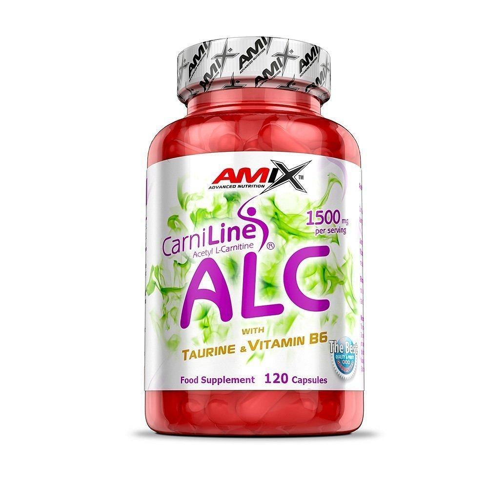 Amix ALC + Taurine & Vitamin B6, 120 kapslí