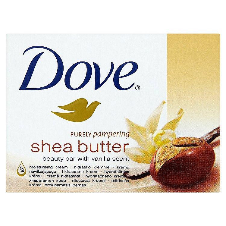 Dove Purely Pampering Shea Butter krémová tableta na mytí 100 g