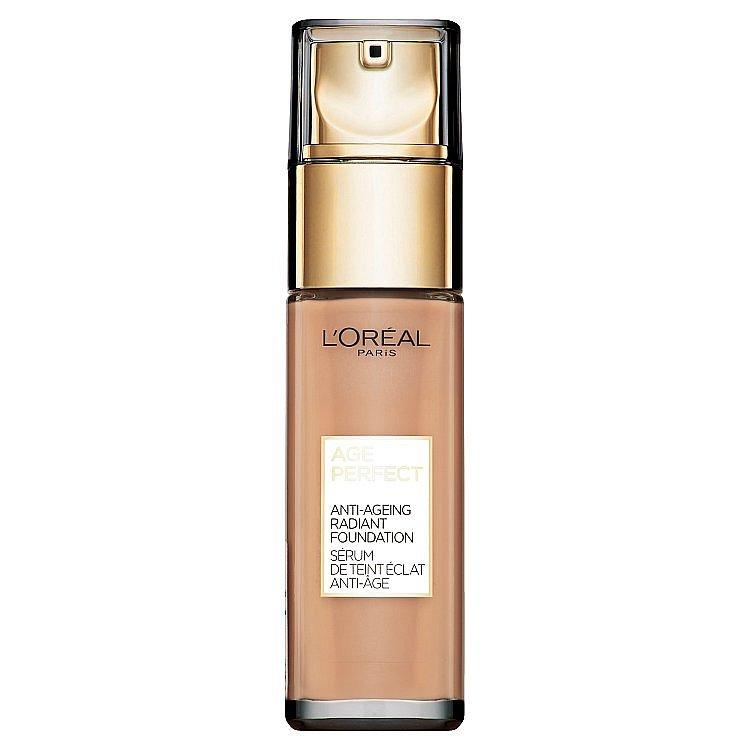 L'Oréal Paris Age Perfect 270 Amber Beige omlazující a rozjasňující make-up 30 ml