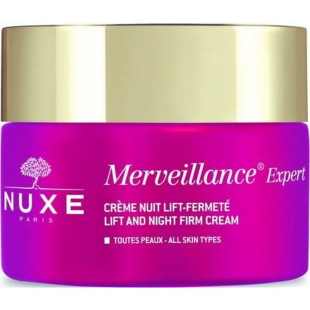 Nuxe Merveillence Expert Noční zpevňující lifting 50ml